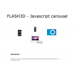 <p>Display a featured carousel products.</p> <p> </p> <p>Configure from back office width, colors, reflection, and more</p>