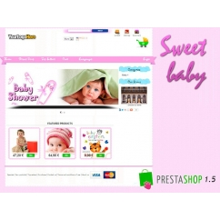 "<p>Template for prestashop for a baby store. This template includes a slide panel, to edit the colors and background of the theme easily, a image slider fully configurable from back office <span> and social networks links.</span></p> <p><span><br /></span></p> <p><strong>Features</strong>:</p> <p>Bannermaker - Slideshow of images</p> <p>Float panel - live edit for the colors of the theme and image background</p> <p>Custom featured products</p> <p>Multilingual</p> <p>2 columns</p> <p>Css menu</p> <p>Share on social networks</p> <p>Compatible with firefox, explorer, chrome, safari, opera</p> <p><strong><img src=""http://www.catalogo-onlinersi.com.ar/img/browsers.png"" alt="""" width=""300"" height=""90"" /></strong></p> <p><span style=""color: #ff0000;""><strong>DEMO:</strong></span></p> <p><a href=""http://prestashoptemplates.com.ar/test87""><strong>http://prestashoptemplates.com.ar/test87</strong></a></p>"