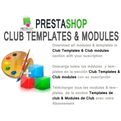 "<p>Download all Modules and Templates in Club Modules  and Club Templates section with your suscription.</p> <p><span style=""font-size: 11px; line-height: 1.5em;"">You can choose the duration of the suscription (3 months, 6 months or 12 months).</span></p> <p> </p> <p><strong>By purchasing this item, you get a voucher valid only for your account, which allows you to download all the Modules and templates  in Club Modules and Club templates section, for the duration of your subscription.</strong></p> <p><strong>You can check the modules included <a href=""http://catalogo-onlinersi.net/en/49-prestashop-club"">here</a> </strong></p> <p><span><br /></span></p> <p><span>The Renovation of the suscription is 50%</span></p> <p><span><br /></span></p> <p><span><strong>Includes</strong>:</span></p> <ul> <li><span style=""font-size: 11px; line-height: 1.5em;"">Download all modules in club modules and club templates category</span></li> <li><span style=""font-size: 11px; line-height: 1.5em;"">Free upgrades during suscription</span></li> <li><span style=""font-size: 11px; line-height: 1.5em;"">Use the modules or templates in 2 domains</span></li> <li><span style=""font-size: 11px; line-height: 1.5em;"">1 new module and template x month</span></li> <li><span style=""font-size: 11px; line-height: 1.5em;"">Discount of 50% in other modules and templates categories</span></li> <li><span style=""font-size: 11px; line-height: 1.5em;"">Support in prestashop forum</span></li> <li><span style=""font-size: 11px; line-height: 1.5em;""><br /></span></li> </ul> <div> <div><strong>Terms and conditions</strong></div> <div>You cant redistribute or upload the modules or templates to other sites</div> <div>You cant sell the modules or templates in other sites</div> <div>After download more than 1 product, you cant get a refound.</div> </div>"