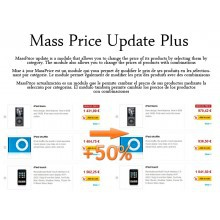 Mass Price Update Plus