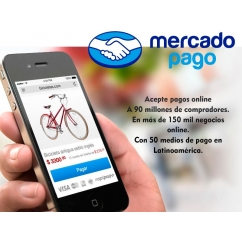 """<p>MercadoPago will allow you to accept payments on your store credit cards, bank transfers and other payment many more.</p> <p>Pay your purchases in installments without interest credit card or cash.<br />Receive online payments with multiple payment means and from any device.</p> <p>Available for Argentina, Brazil, Colombia, Mexico and Venezuela</p> <p><strong>Features</strong>:</p> <ul> <li>Cross Browser</li> </ul> <p><img src=""""http://www.catalogo-onlinersi.com.ar/img/browsers.png"""" alt="""""""" /></p> <ul> <li>Multilingual</li> </ul> <p><img src=""""http://www.catalogo-onlinersi.com.ar/img/multilingual.png"""" alt="""""""" /></p> <ul> <li>Multistore</li> </ul> <p><img src=""""http://www.catalogo-onlinersi.com.ar/img/multistore.png"""" alt="""""""" /></p> <ul> <li>Responsive</li> </ul> <p><img src=""""http://www.catalogo-onlinersi.com.ar/img/responsive.png"""" alt="""""""" width=""""450"""" height=""""110"""" /></p>"""