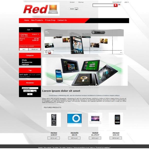 Červená - PS 1.4