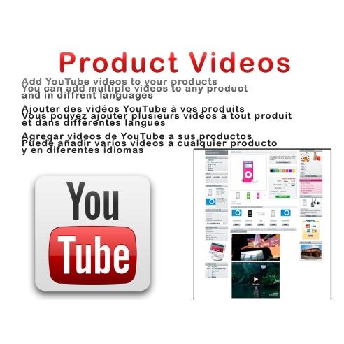 Vídeos do produto