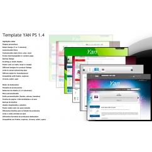 Yan avec panneau de RSI - PS 1.4