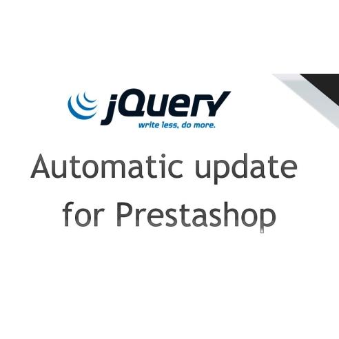 Mise à jour automatique de jQuery