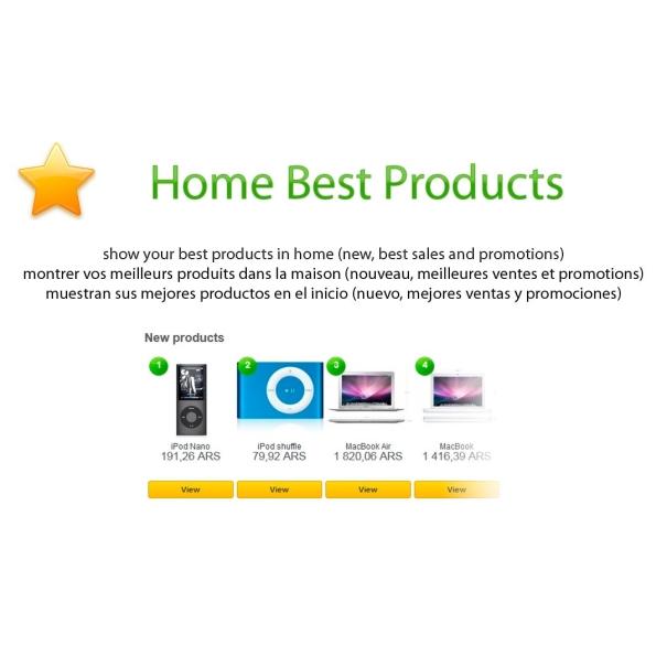 I migliori prodotti a casa
