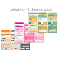 pMobile 3 themes pack - Soft