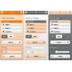 pMobile 3 themes pack - Brown