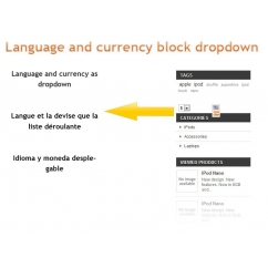 Block language and currency