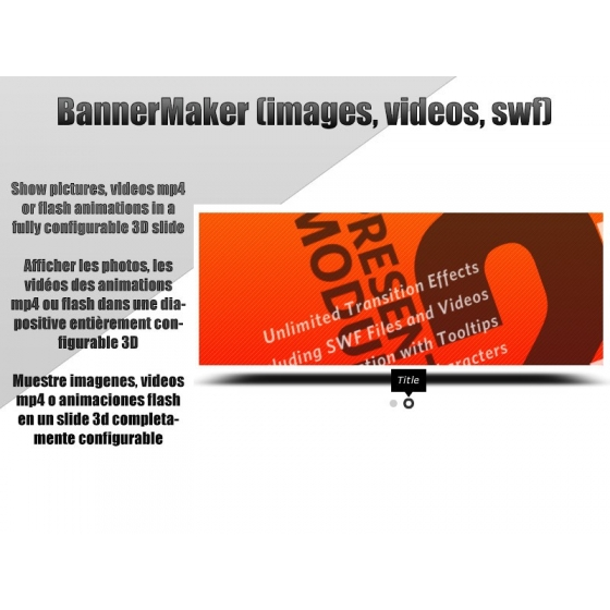 Bannermaker (images, videos, swf)