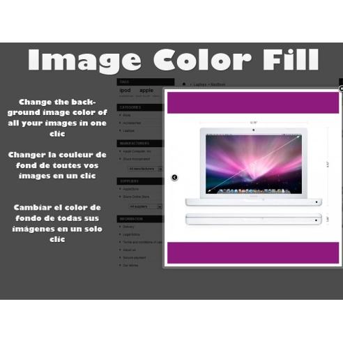 Image color fill