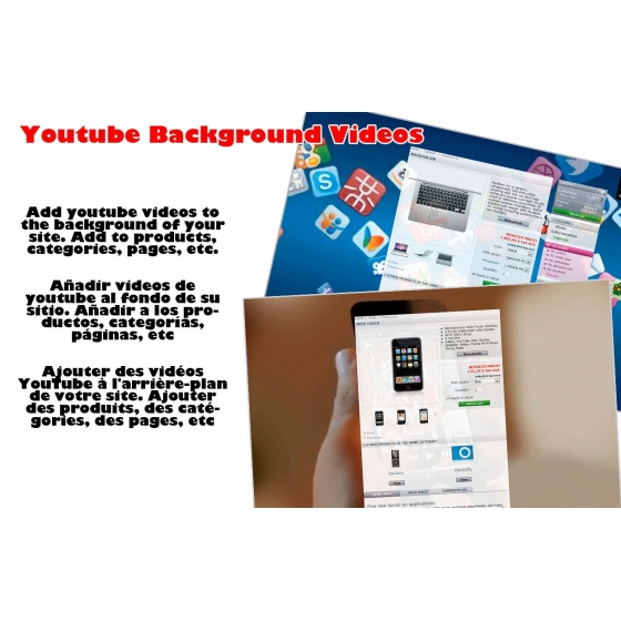Youtube background videos