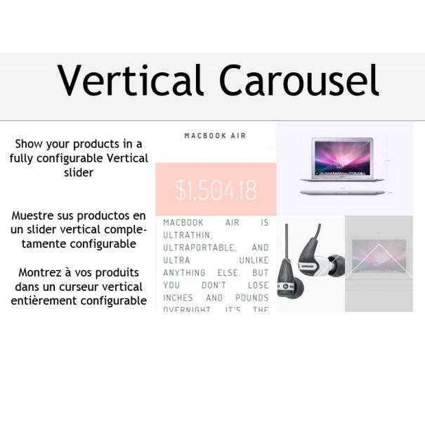 Vertical carousel