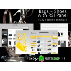 Bags Shoes With RSI panel (theme editor) - PS 1.5