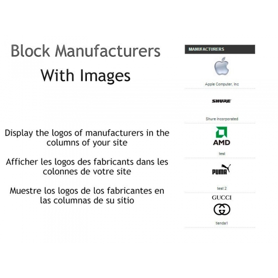 Block Manufacturer with images