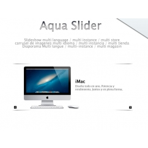 Aqua Slider - Prestashop slider (multislider-multilingual)