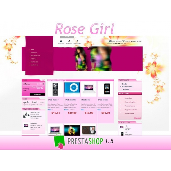 Rose Girl - PS 1.5
