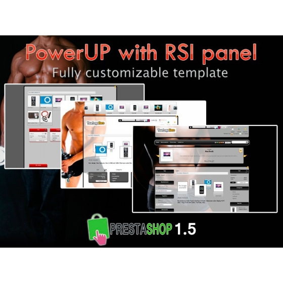 Power Up With RSI panel - PS 1.4