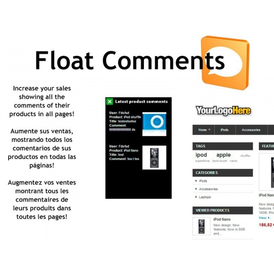 Float commenti