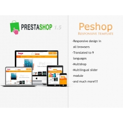 Peshop Responsive - PS 1.5