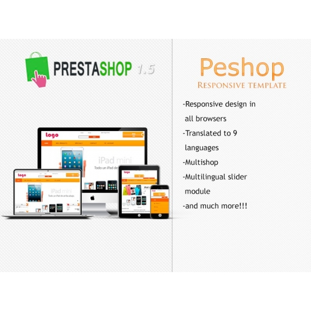Peshop Responsive - PS 1.5