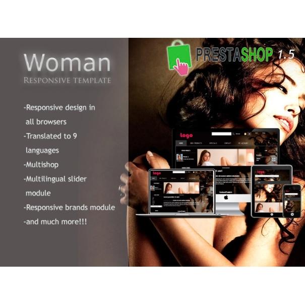 Woman responsive - PS 1.5