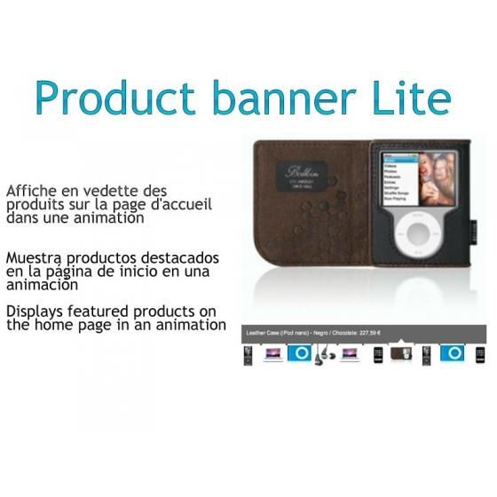 ProductBanner - VERSION LITE