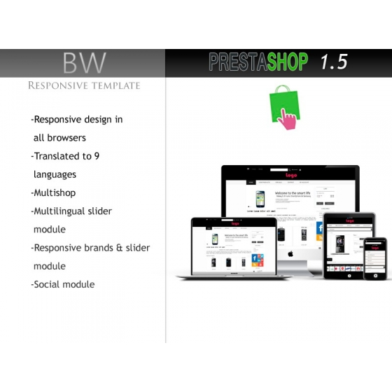 BW responsive PS 1.5
