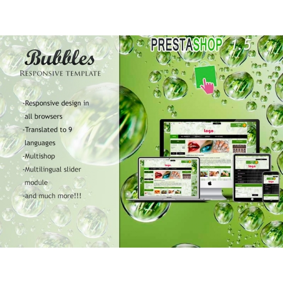 Bubbles responsive - PS 1.5