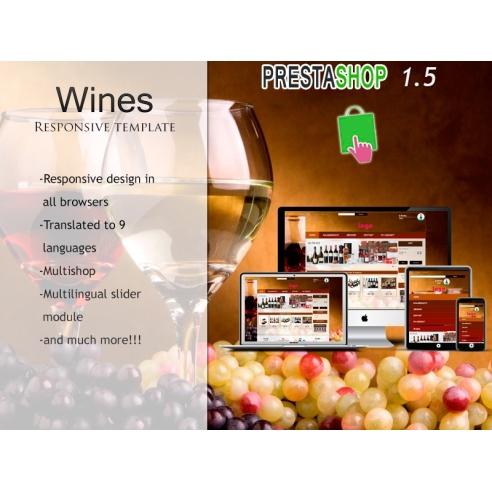 Wines Responsive PS 1.5