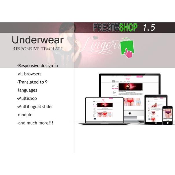 Underwear Responsive - PS 1.5