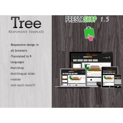 Tree Responsive Template - Prestashop