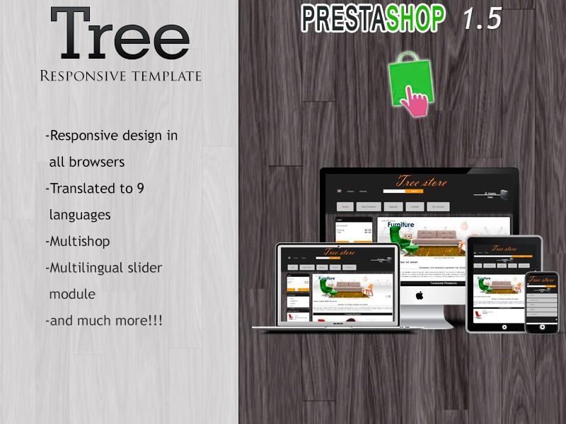 Plantilla responsiva de árbol - Prestashop
