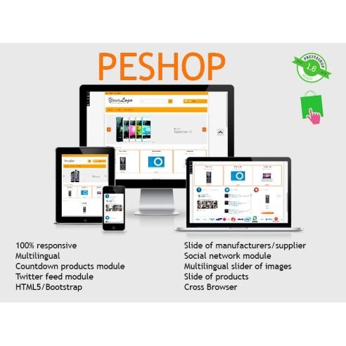 Peshop 1.6 responsive