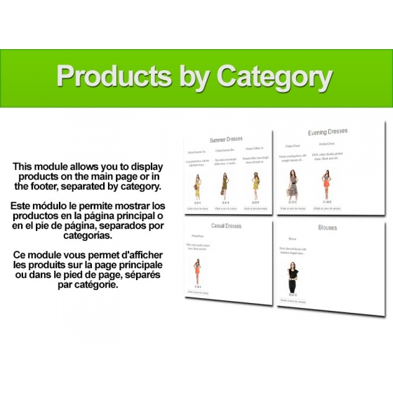 Products by category