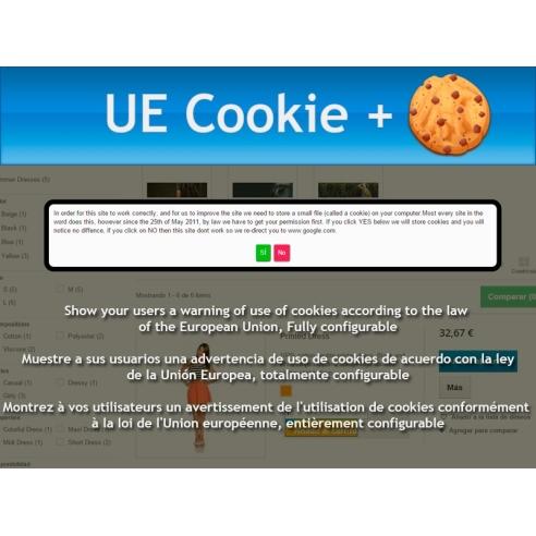 UE Cookie + European Cookie Law