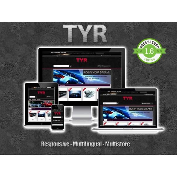 Tyr - Prestashop responsive template
