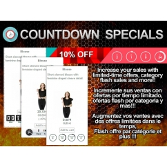 Countdown Specials - Flash sales