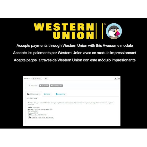 Western Union +