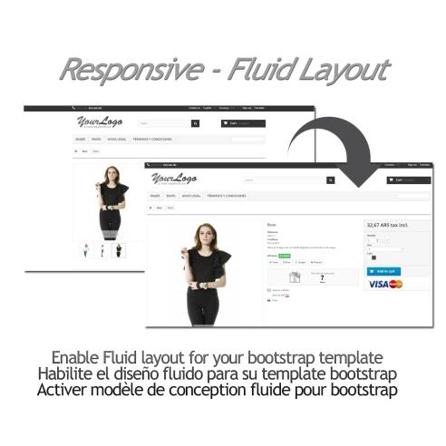 Responsive - Fluid Layout