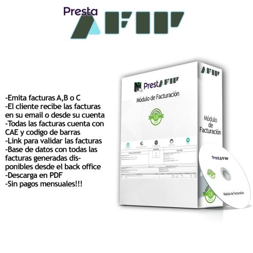 PrestAfip - Factura Electrónica  AFIP