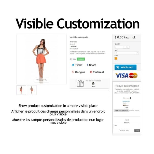 Visible customization