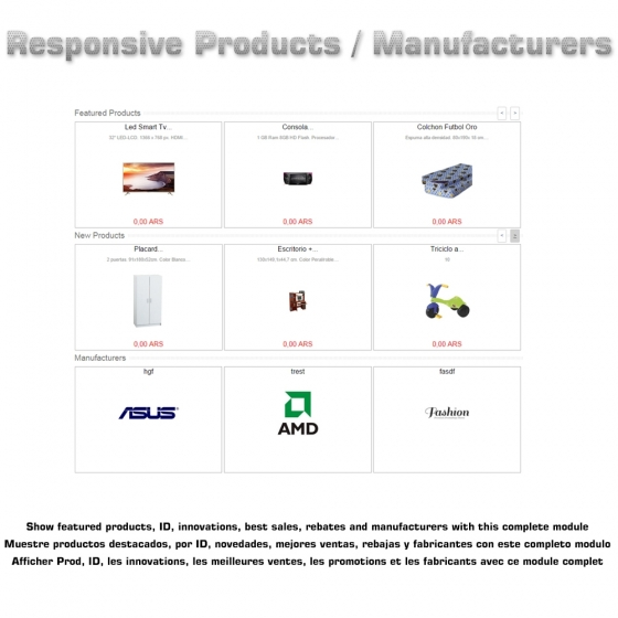 Responsive Products
