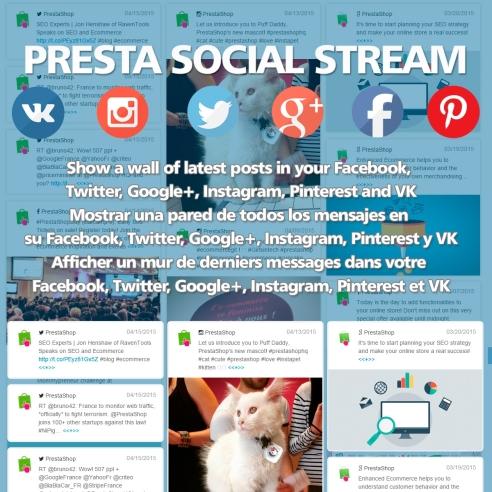Presta Social Stream