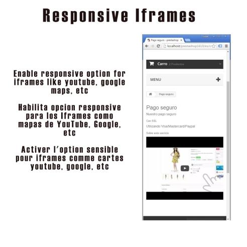 Responsive Iframe