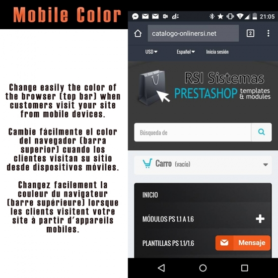 Mobile Color