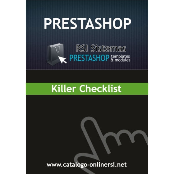 The PrestaShop Killer Checklist