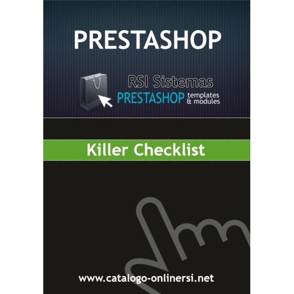 The PrestaShop Killer Checklist