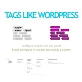 像 Wordpress 的标记