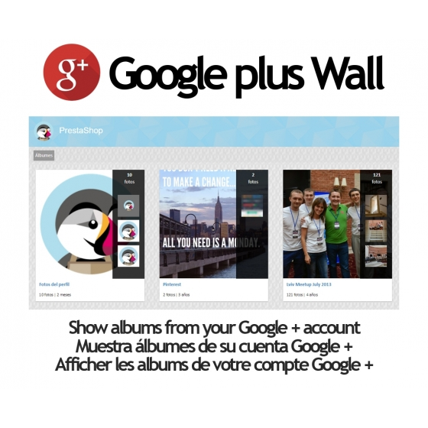 Picassa / Google + Wall